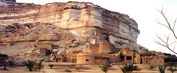 Adrère Amellal Oasis, Siwa, Egypt